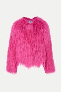 Prada - Goat Hair Coat - Pink