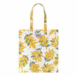 Mimosa Flower Cotton Bookbag