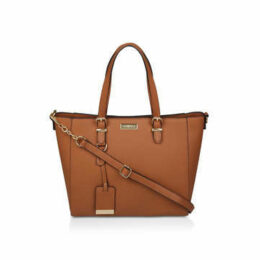 Carvela Fina Winged Tote - Tan Tote Bag