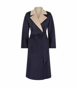 Reversible Belted Coat