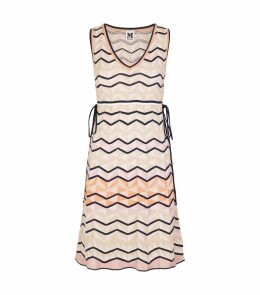 Knitted Zig Zag Dress