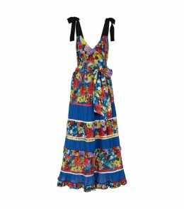 Gayla Tiered Floral Midi Dress