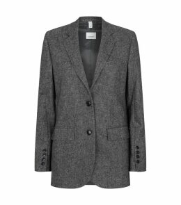 Wool-Cashmere Tailored Jacket