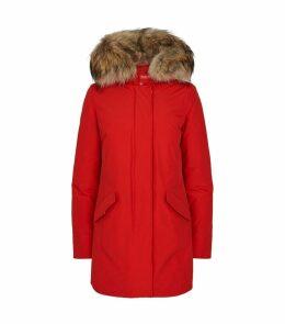 Fur-Trim Arctic Parka