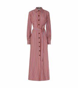 Stripe Valerie Midi Dress