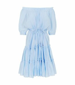 Cotton Kasos Tiered Dress