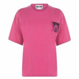 Moschino Brand Patch T Shirt