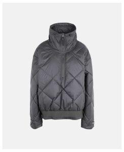 Stella McCartney Black Black Pull On Jacket, Women's, Size L
