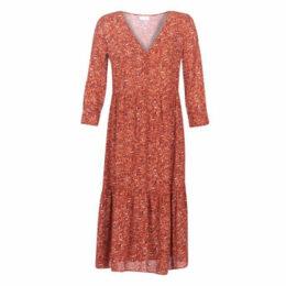 Vila  VIKAFINA  women's Long Dress in Red