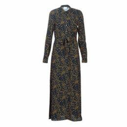 Vila  VIMASK  women's Long Dress in Blue