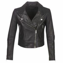 Ikks  BM48145-02  women's Leather jacket in Black