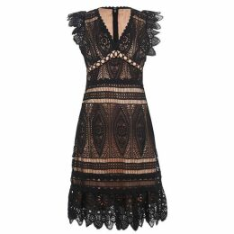 MICHAEL Michael Kors MICHAEL Medallion Lace Dress