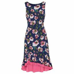 Gina Bacconi Taissa Contrast Hem Dress