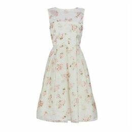 Gina Bacconi Hestia Organza Print Dress