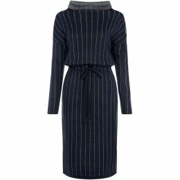Linea Aria stripe oversized dress
