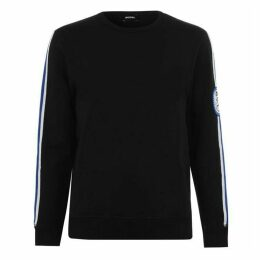 Diesel Striped Arm Sweater