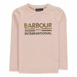 Barbour International B.Int LS Logo T Gl94