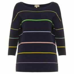 Phase Eight Piera Rainbow Stripe Knit