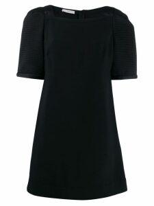 Prada Pre-Owned oversized sleeves short dress - Black