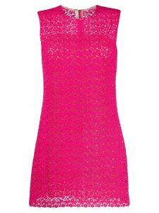 Prada Pre-Owned lace mini dress - Pink