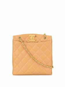 Chanel Pre-Owned CC quilted tote bag - Brown