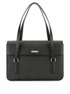 Burberry Pre-Owned logo tote bag - Black