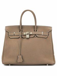 Hermès Pre-Owned Birkin 35 bag - Brown