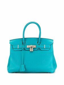 Hermès Pre-Owned 2012 Birkin 30 bag - Blue
