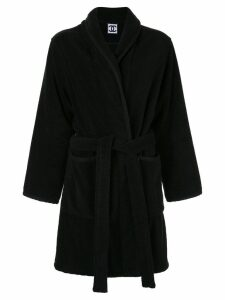 Chanel Pre-Owned knitted long jacket - Black