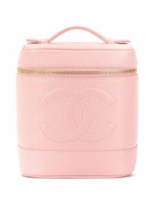 Chanel Pre-Owned CC logo cosmetic bag - Pink