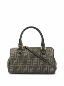 Fendi Pre-Owned small FF motif pattern bag - Brown