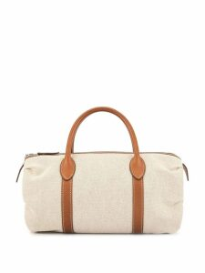 Hermès Pre-Owned 2010 Mademoiselle hand bag - White