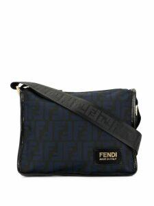 Fendi Pre-Owned Zucca shoulder bag - Blue