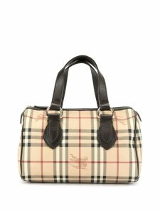 Burberry Pre-Owned house check tote - Brown
