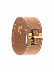 Hermès Pre-Owned H logo bangle - Brown