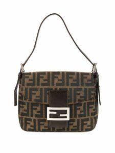 Fendi Pre-Owned Zucca Pattern Mamma Baguette handbag - Brown