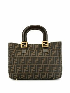 Fendi Pre-Owned Zucca pattern tote - Brown