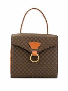 Céline Pre-Owned Macadam pattern tote - Brown