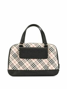 Burberry Pre-Owned check handbag - Brown