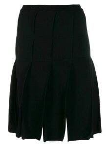 Jean Paul Gaultier Pre-Owned 1980's pleated skirt - Black