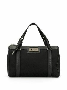 Christian Dior Pre-Owned Trotter pattern tote - Black