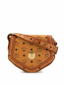 MCM Pre-Owned Logos crossbody bag - Orange