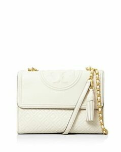 Tory Burch Fleming Convertible Leather Shoulder Bag