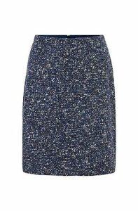 Tweed skirt in Italian pressed bouclé