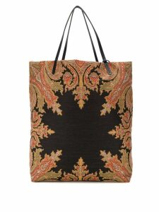Etro patterned tote bag - Neutrals