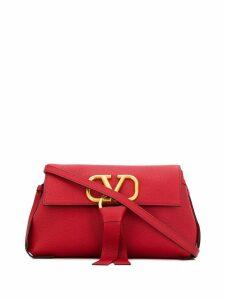 Valentino Valentino Garavani V-ring shoulder bag - Red