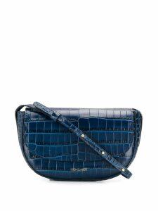 Frenzlauer Swing crocodile effect mini bag - Blue