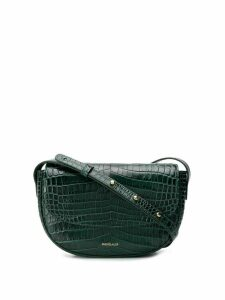 Frenzlauer Swing crocodile effect crossbody bag - Green