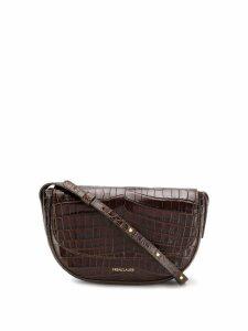 Frenzlauer Swing crocodile effect mini bag - Brown