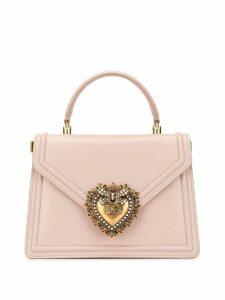 Dolce & Gabbana large Devotion shoulder bag - Pink
